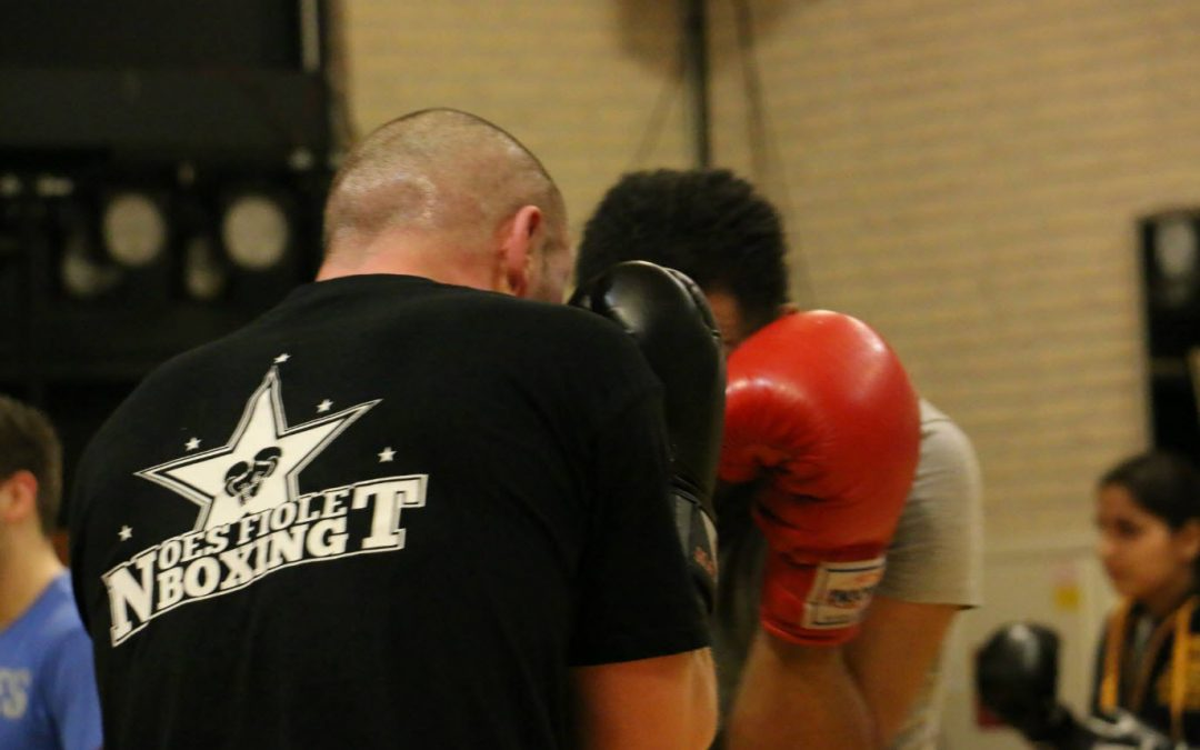 Ik wil boksen, maar….
