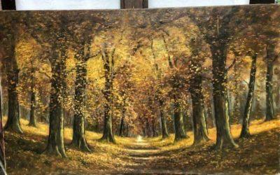 Expositie/veiling kunst collectie van de artiest Jan van Deursen